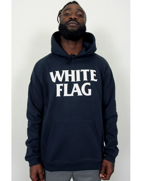 Hooded White Flag