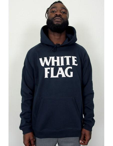 Hooded White Flag