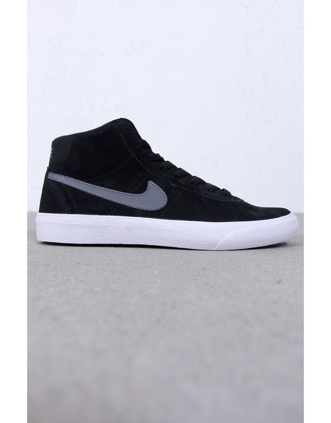 Nike SB Bruin Hi Womens Skate Shoes BlackDark Grey from