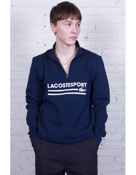 Zip Stand-Up Fleece Sweatshirt