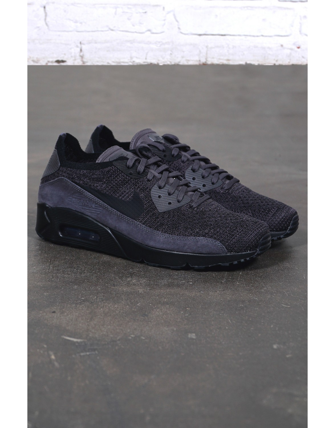low priced a535e 6c54d Nike Sportswear Air Max 90 Ultra 2.0 Flyknit THUNDER GREY ...