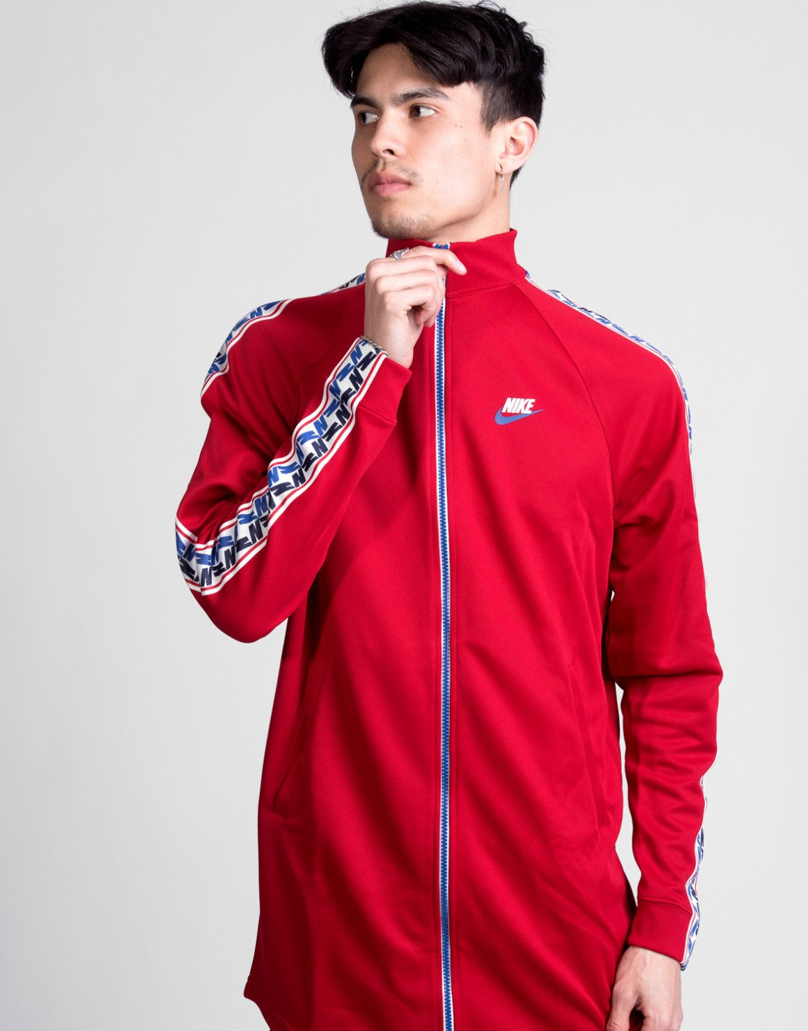 Taped Track Jacket Poly