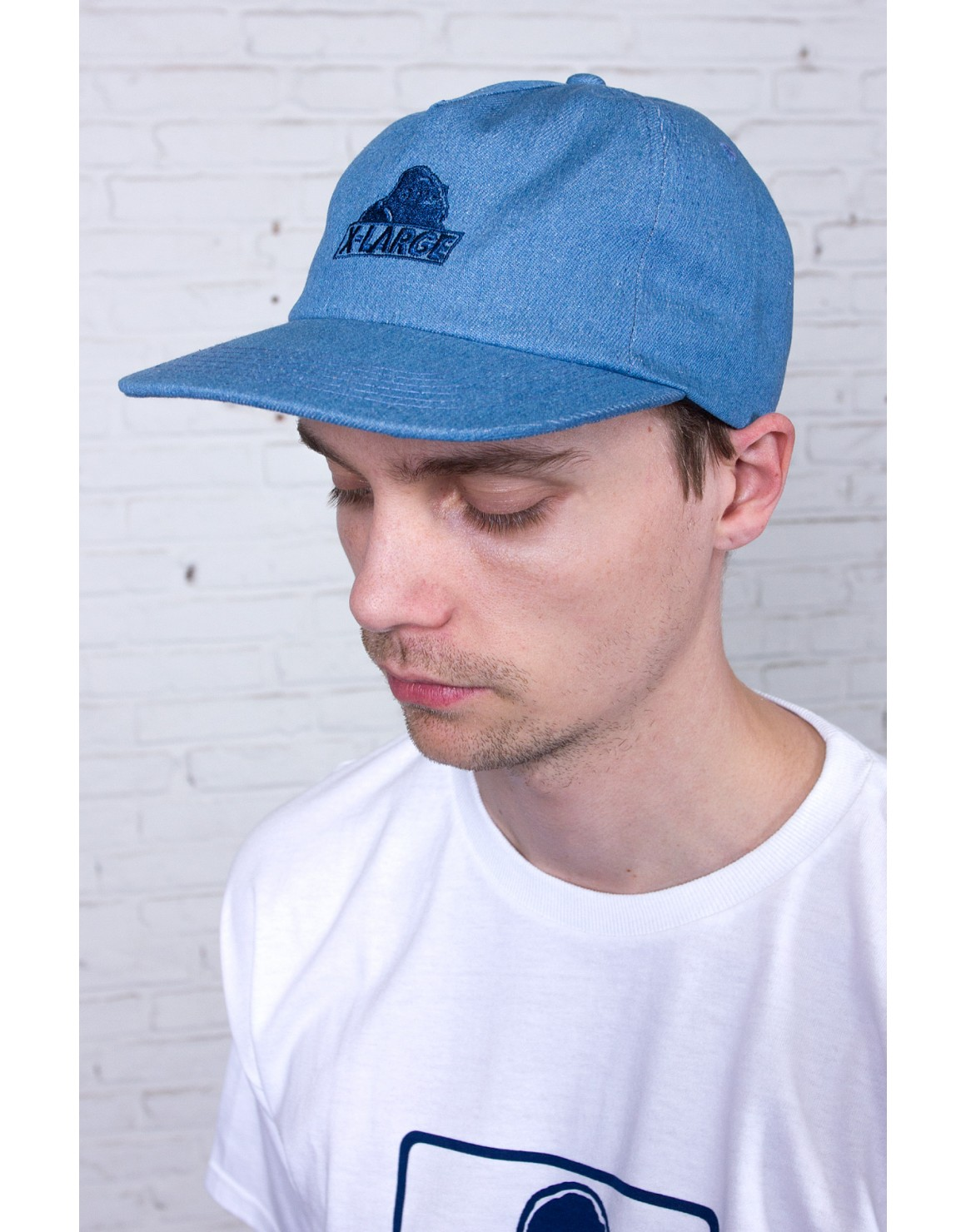 Image of   Slanted Denim Cap