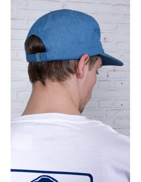Slanted Denim Cap