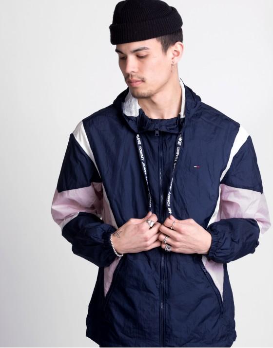Drop Shoulder Athletic Jacket