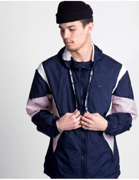 Drop Shoulder Athletic Jacket