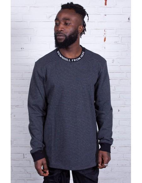 Downhill L/S Stripe Shirt