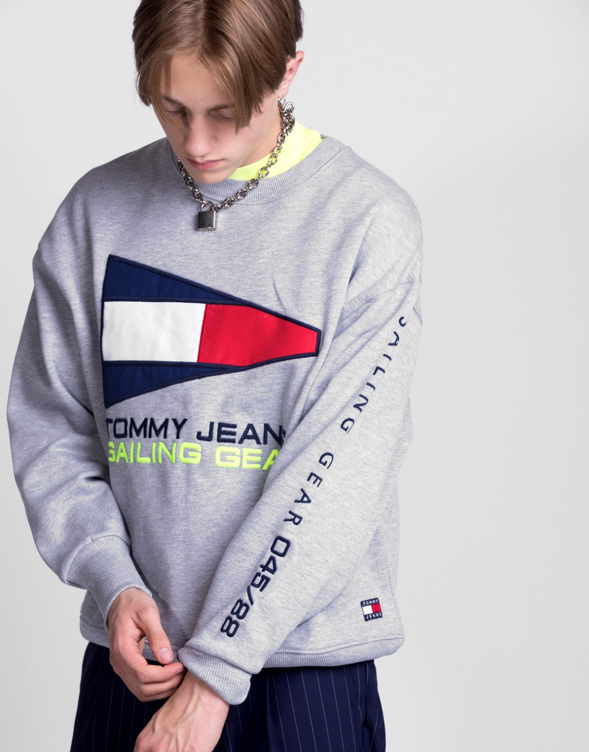 Image of   90s Sailing Logo Sweat