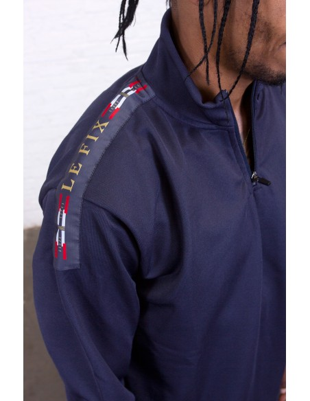 Flag Quarter Zip