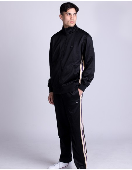 Textured Rib Track Jacket