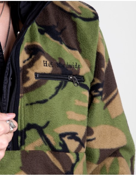 Kumo Reversible 1/4 Zip Jacket