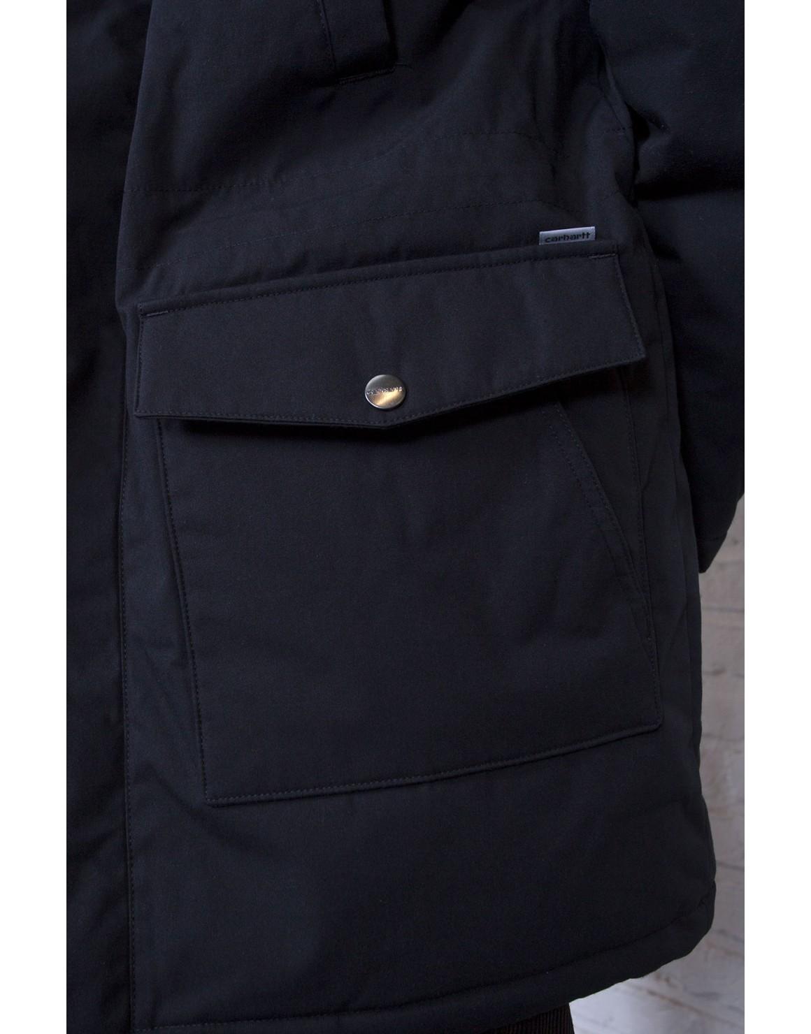 Carhartt WIP Tropper Parka Black Jacket