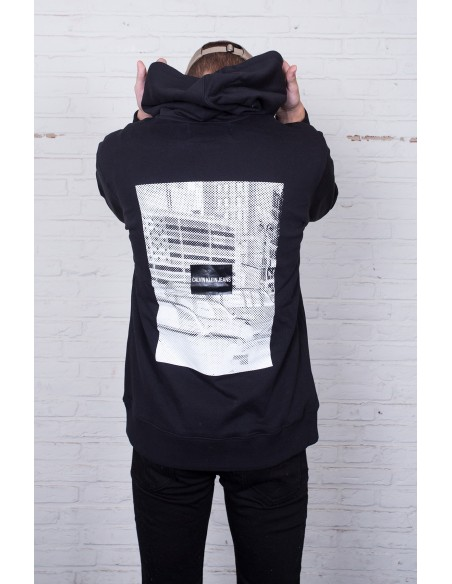 Pixelated Graphic Hoodie