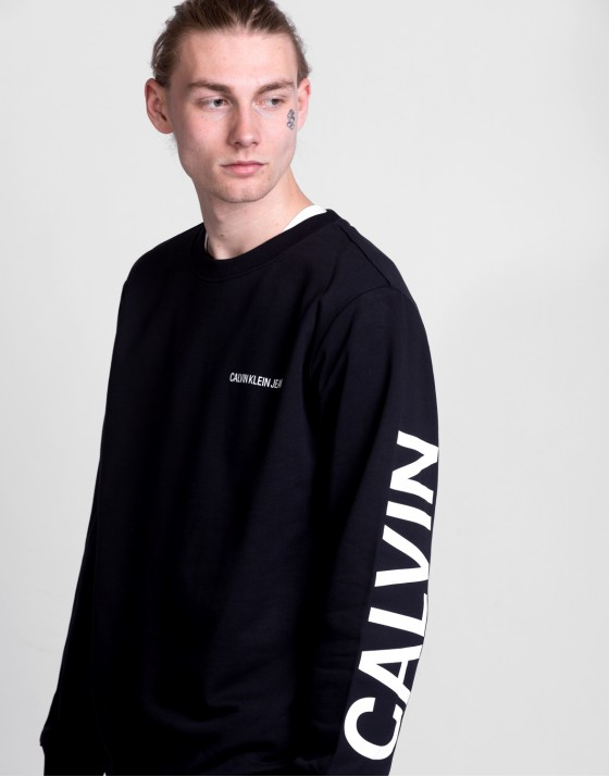 Institutional Back Logo Sweat