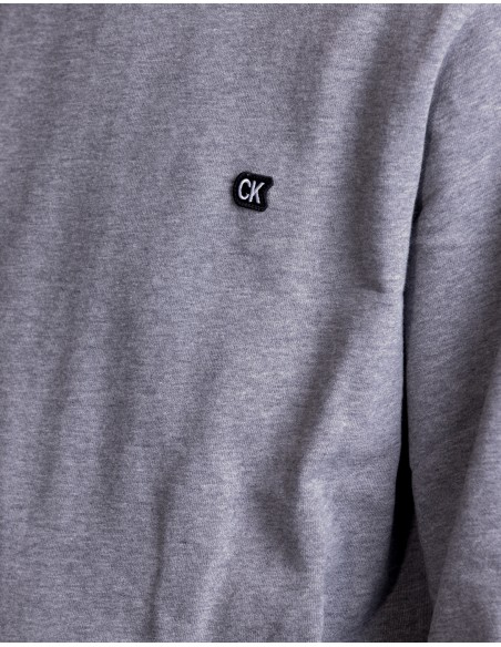 CKJ Chest Embroidery Sweat