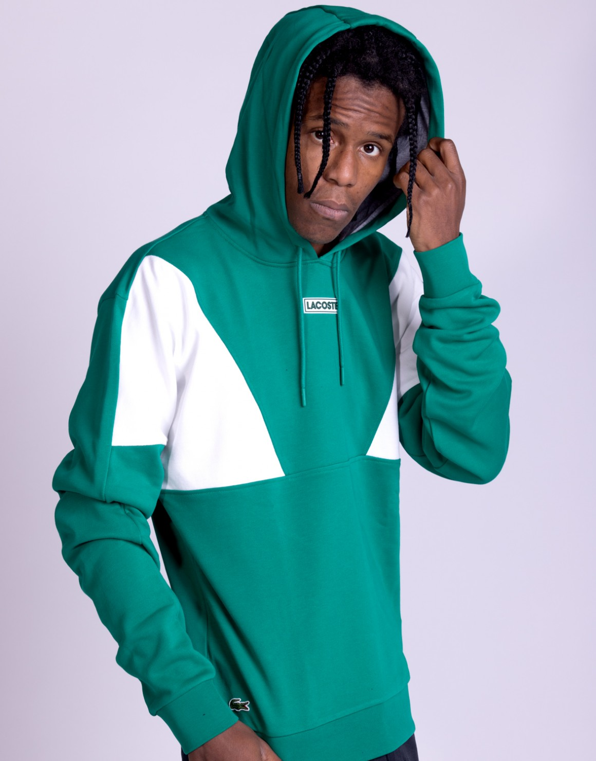 Image of   Hooded Colorblock Sweat