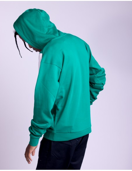 Hooded Colorblock Sweat