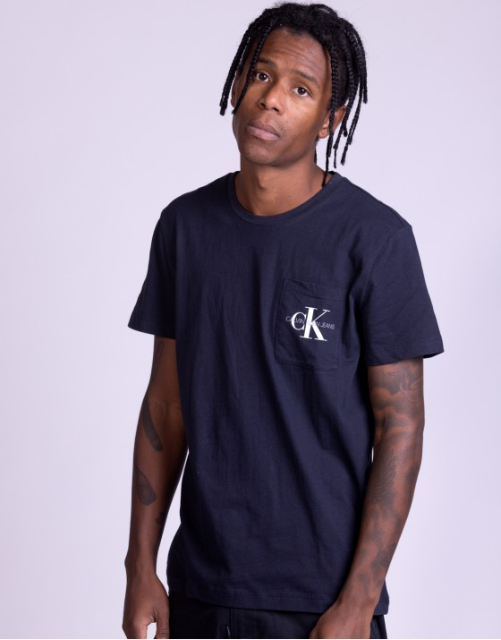 Monogram Pocket Slim Tee