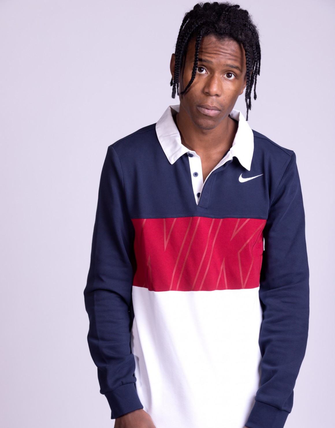 Image of   L/S Dry-Fit Skate Polo