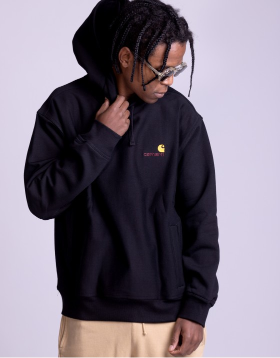 Hooded American Script Sweat