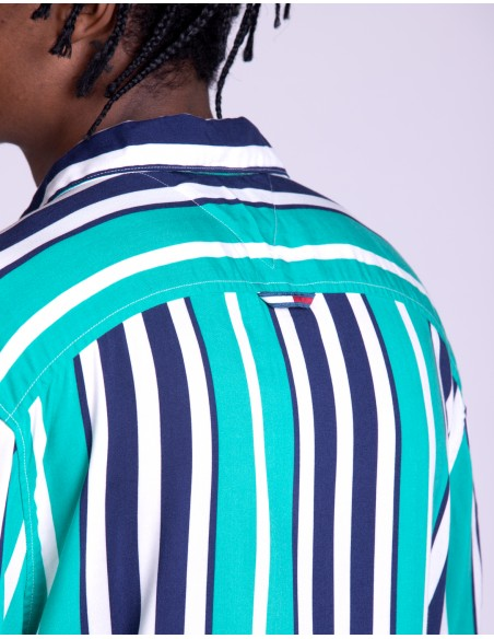 TJM Stripe Camp Shirt