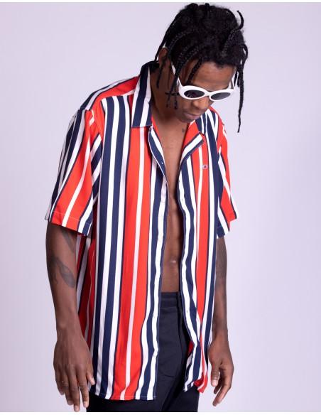 TJM Stripe Camp Shirt