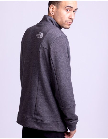 Light 1/4 Zip Crew