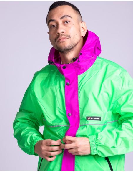 Honeycomb Hooded Jacket