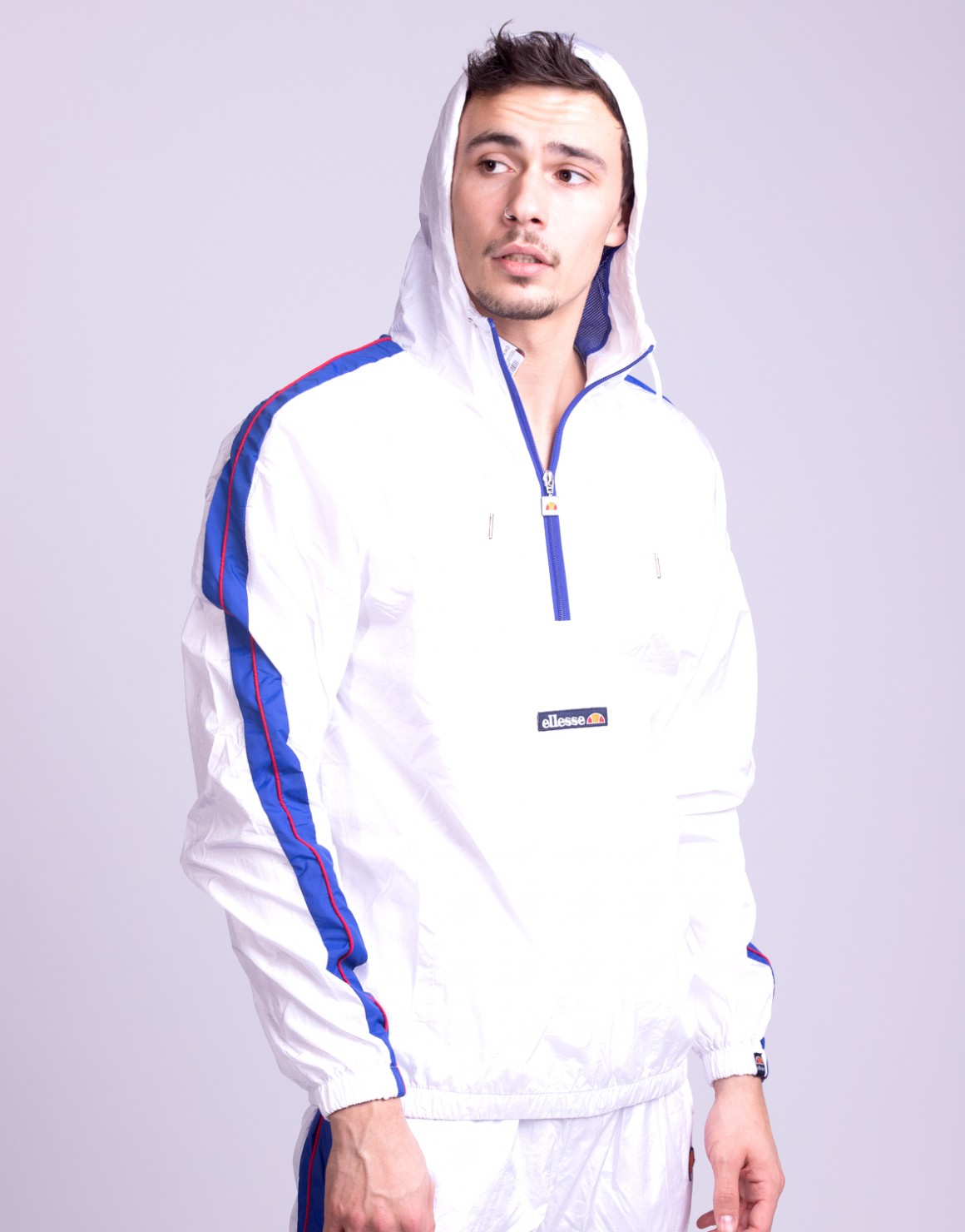 El Osiris 1/2 Zip Hooded Sweat