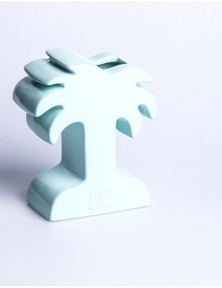 Palm Ceramic Vase