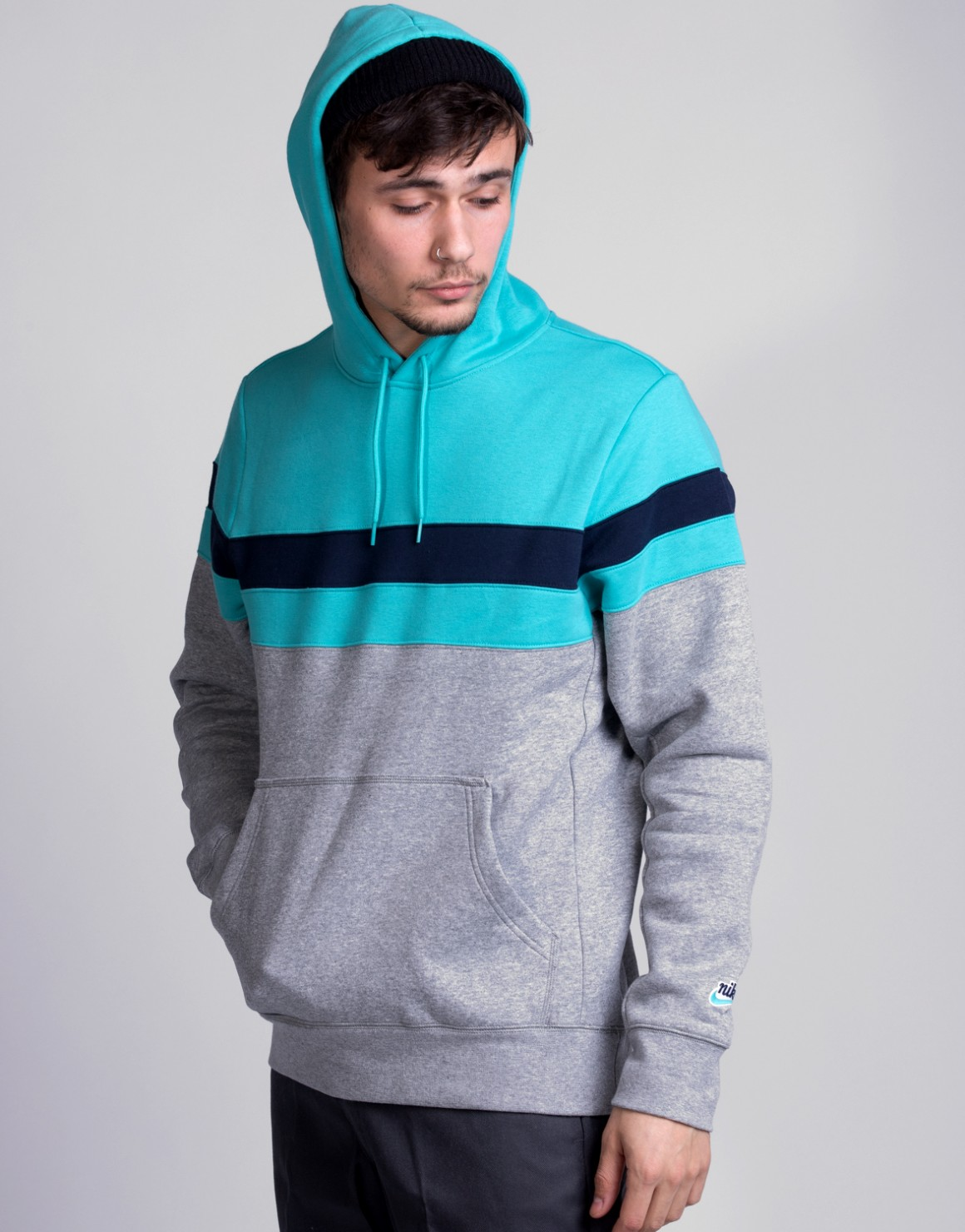 Image of   Icon Hoodie Stripes