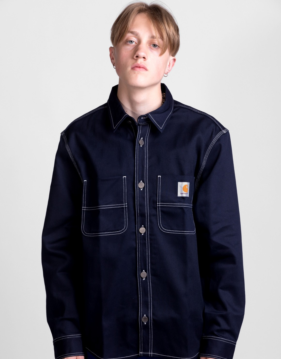Image of   Chalk Shirt Jacket