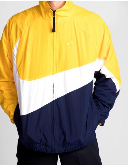 Woven Hybrid Jacket