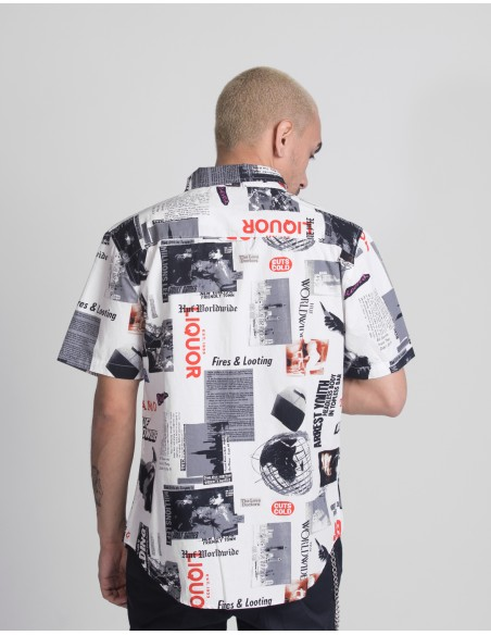 Headlines S/S Woven Shirt