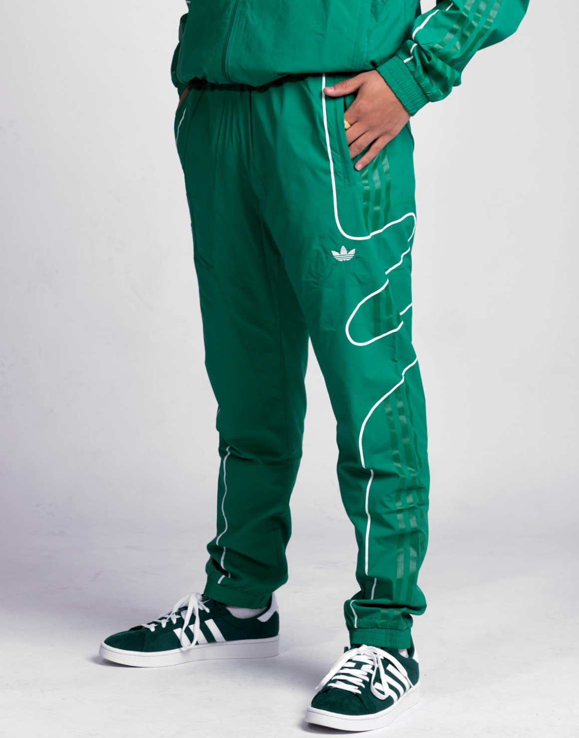 Image of   Flamestrike Woven Trackpant