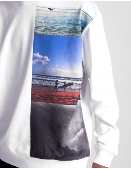 Vertical Photo Crewneck