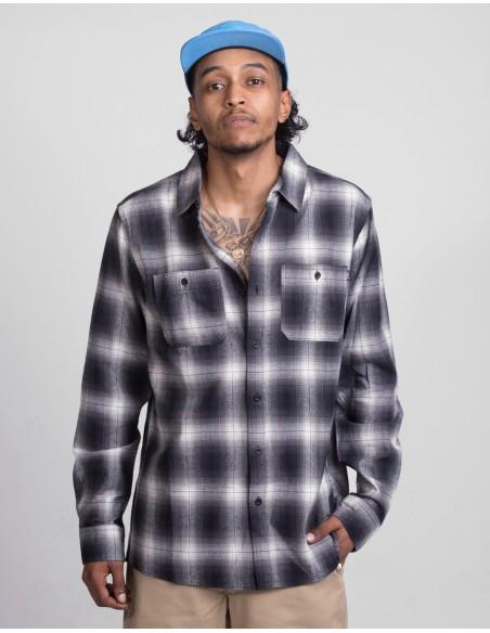 Ombre plaid L/S Shirt