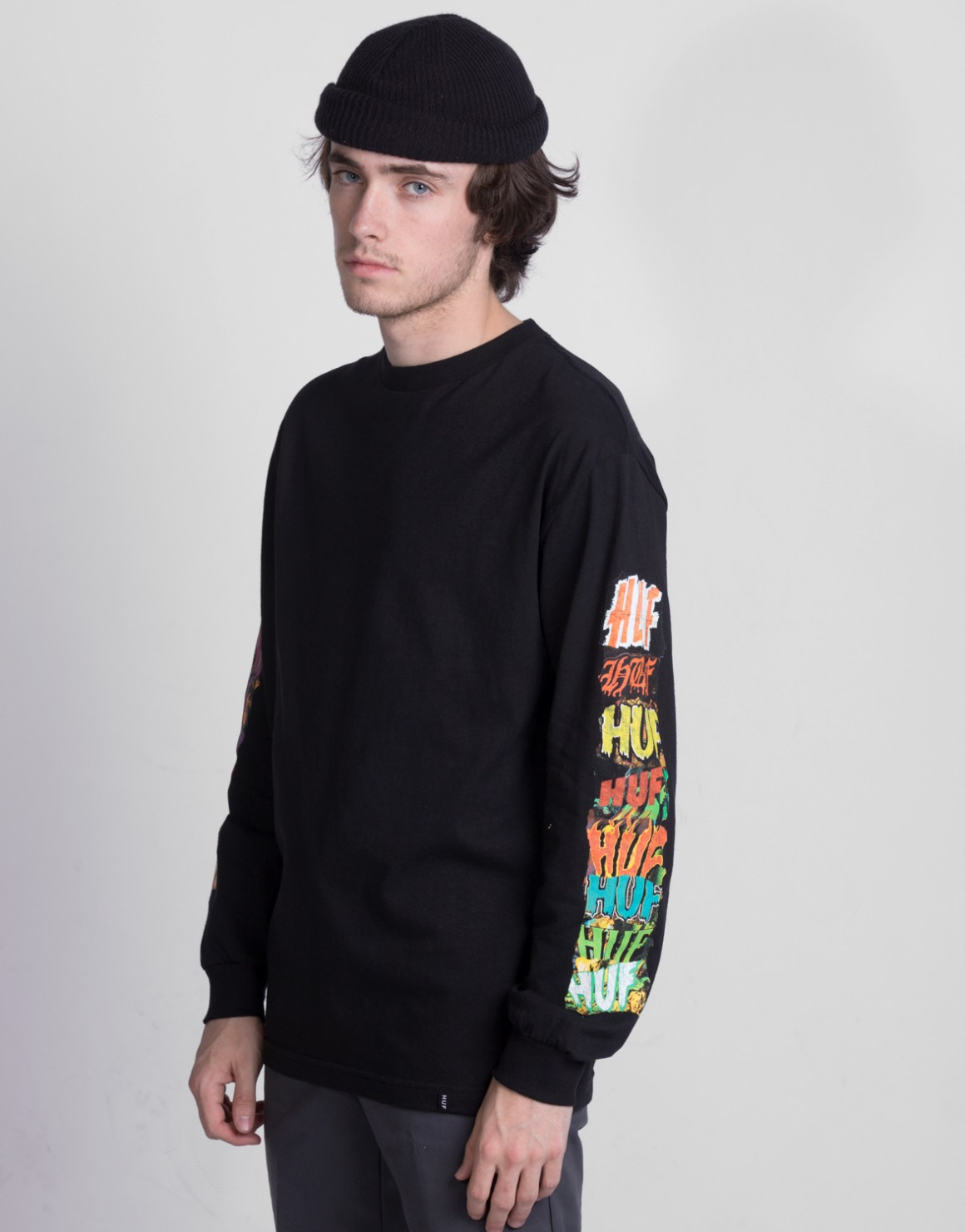 Image of   Huf Cinema L/S Tee