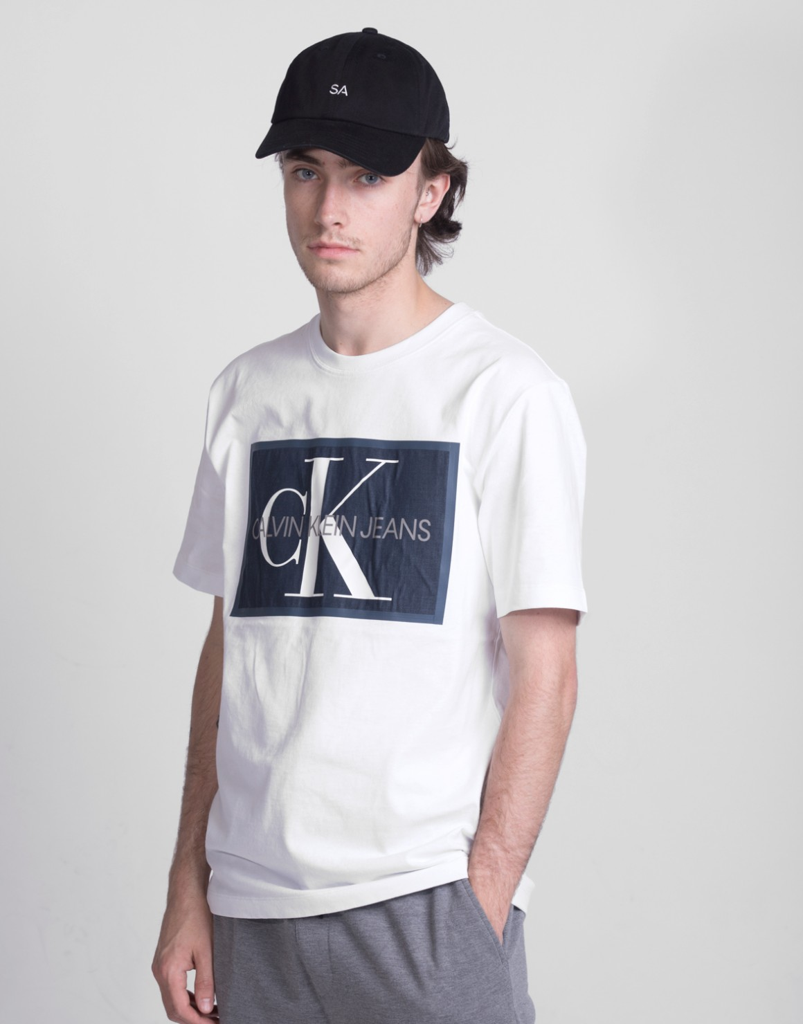 Monogram Icon box Tee