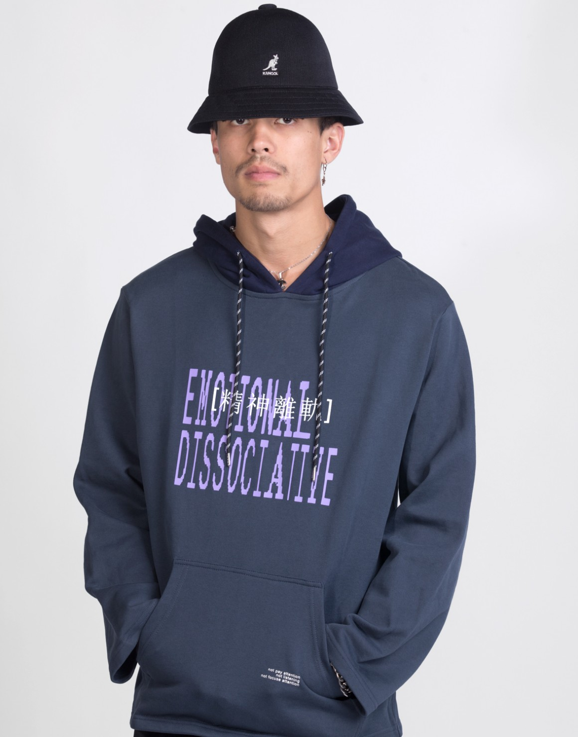 Image of   Dissociative Two Tone Hoodie