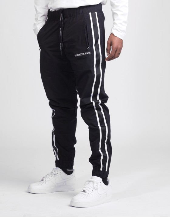 Side Stripe Nylon Track Pant
