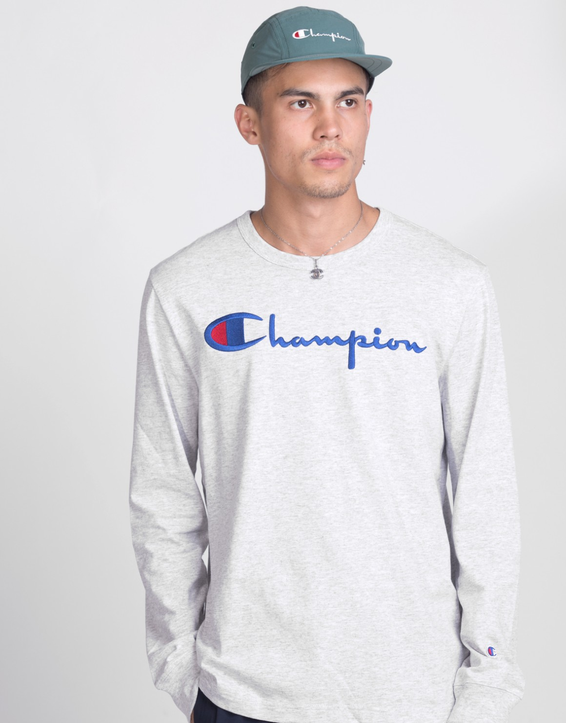 Crewneck Long Sleeve T shirt