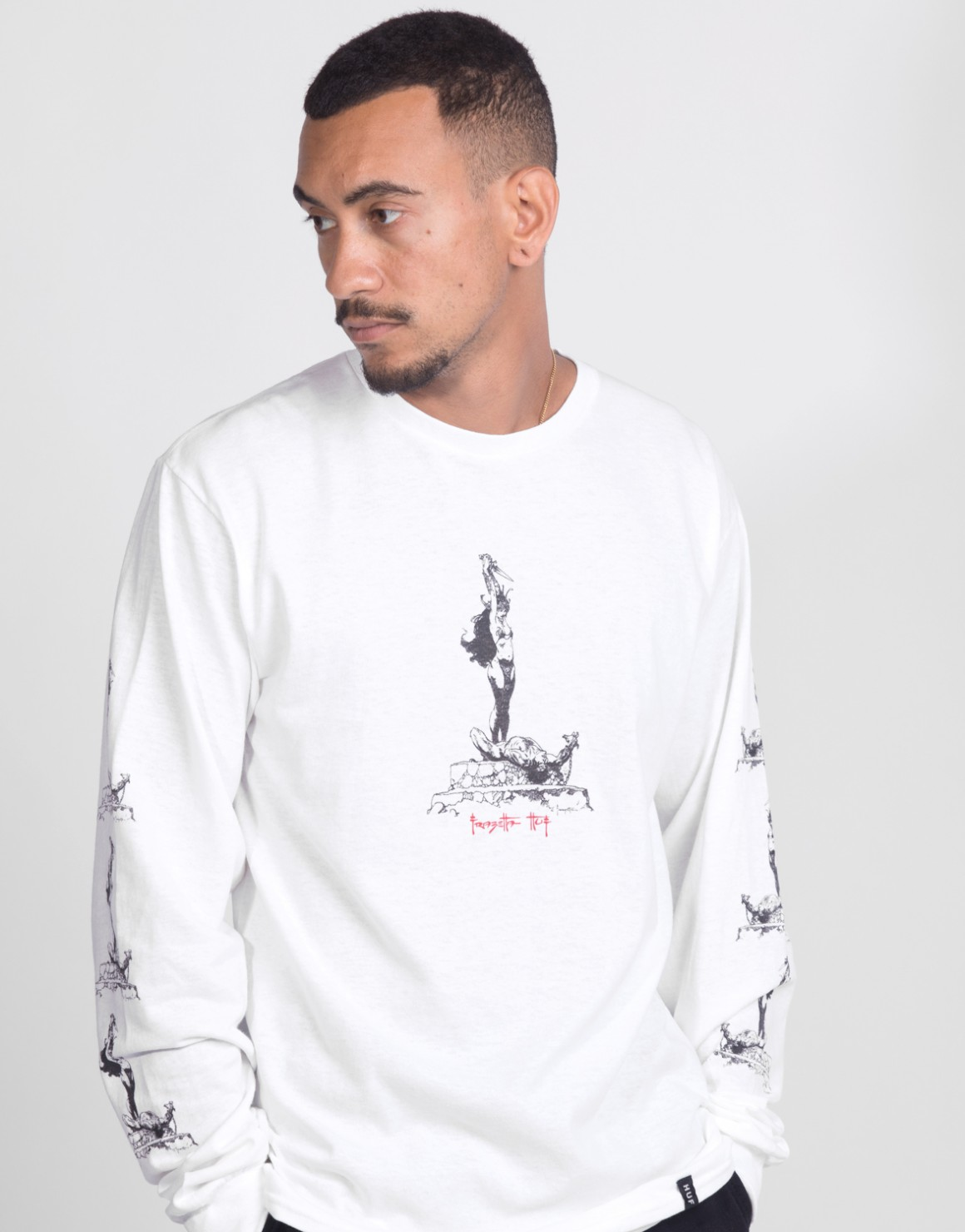Image of   Frazetta Sacrifice L/S Tee