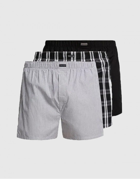 Woven Boxers 3 Pack