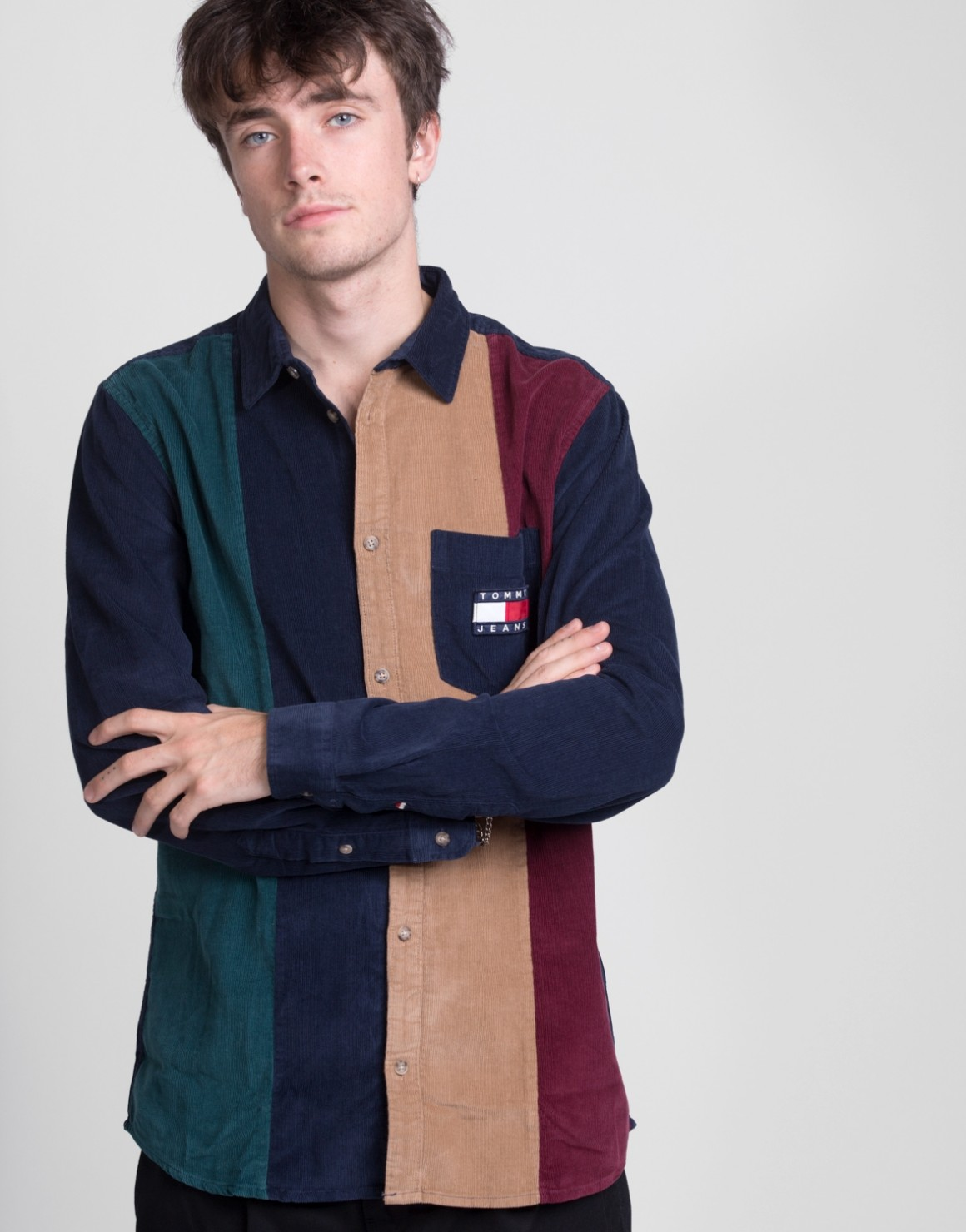 Image of   ColorBlock Cord Shirt