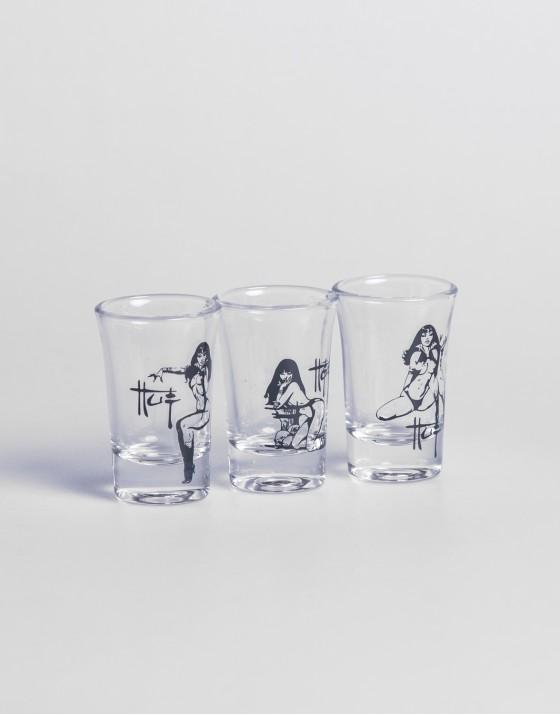 Frazetta Shot Glass