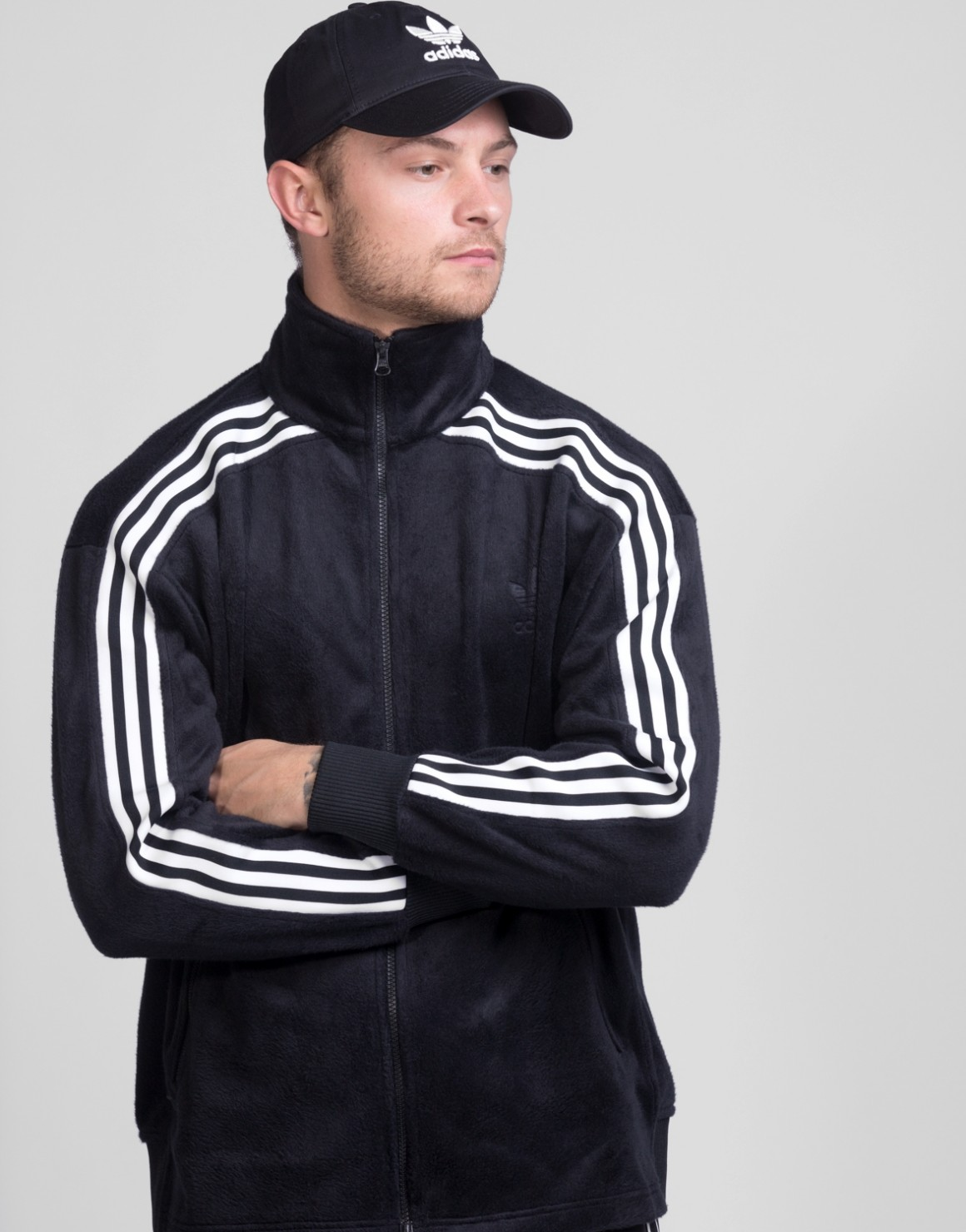 Image of   Velour BB Track Top