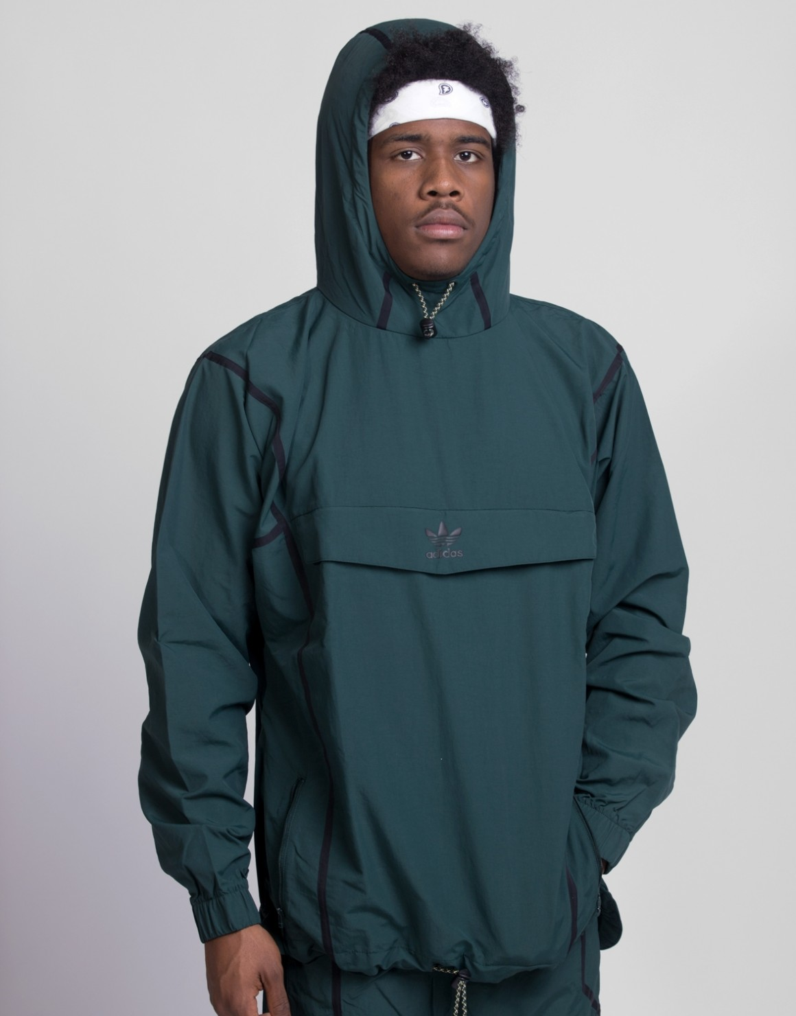Image of   Taped Anorak Windbreaker