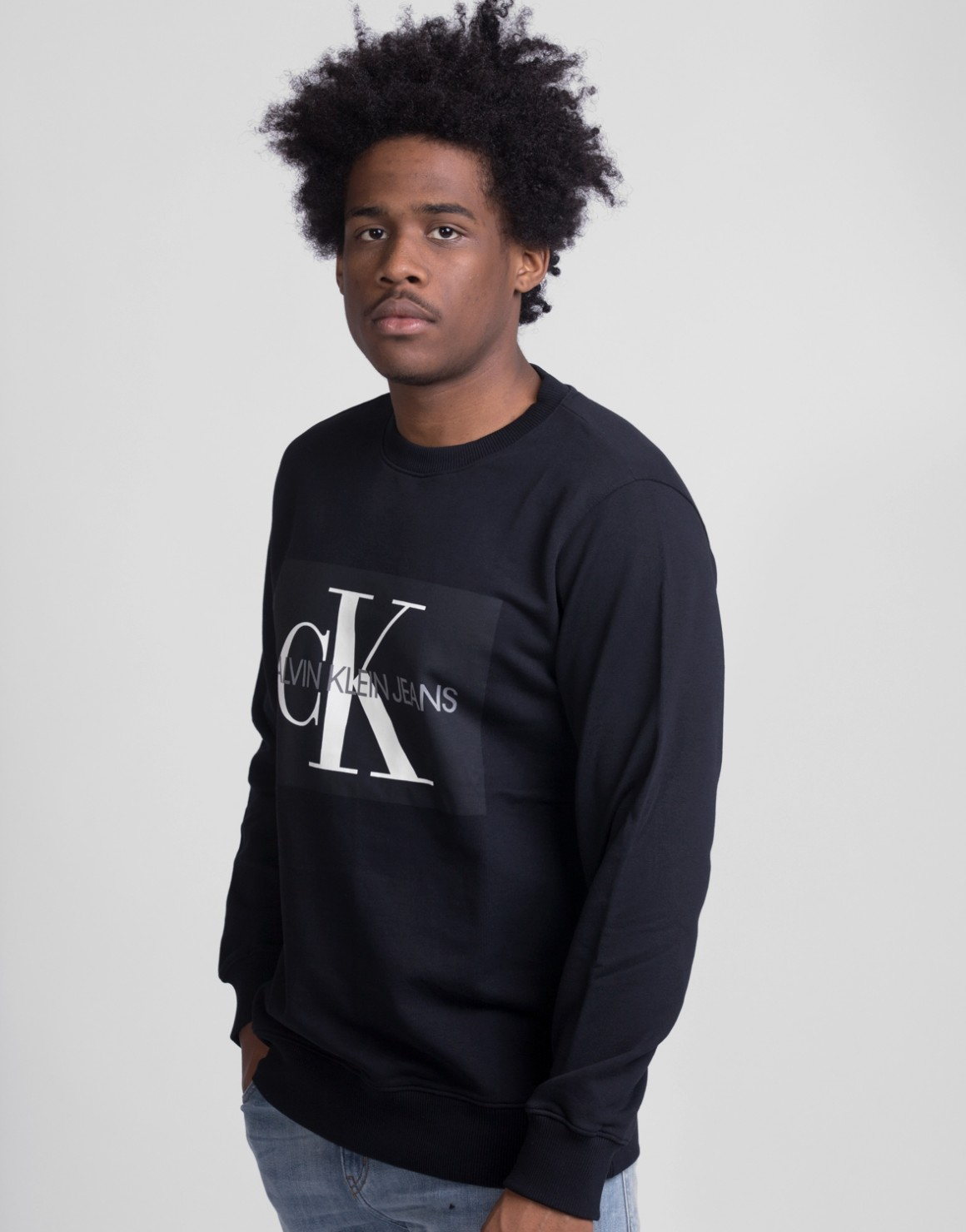 Image of   Core Monogram Logo Sweat