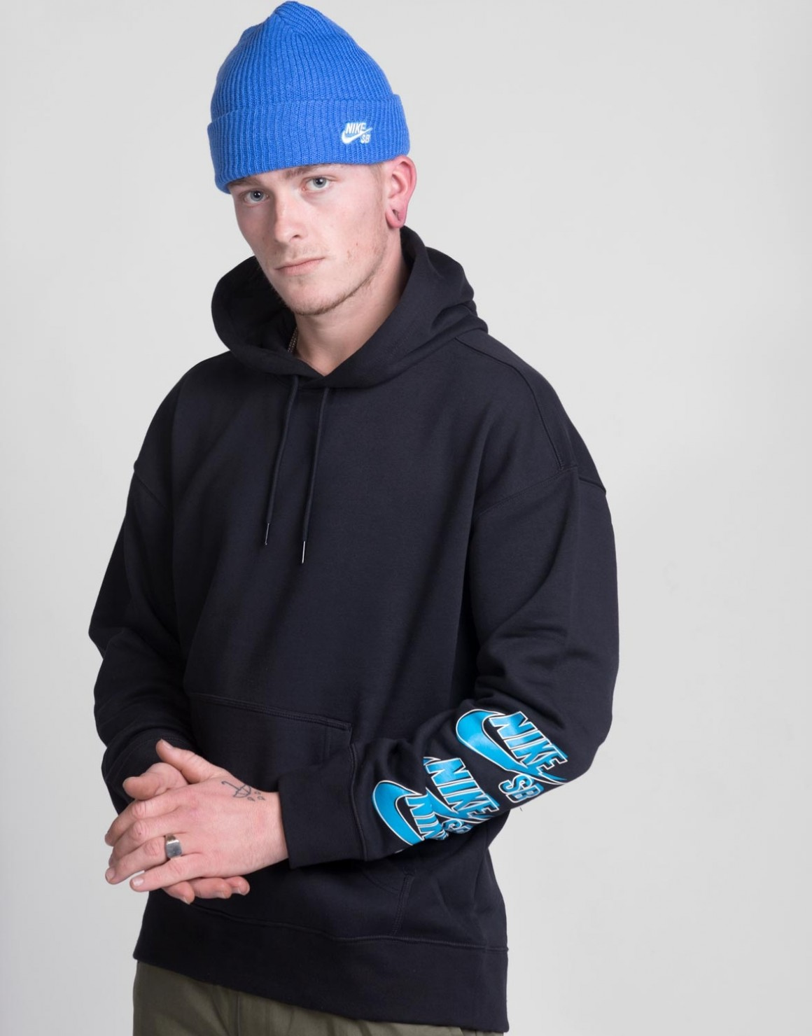Image of   Icon Triple Stack Hoodie
